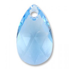 Swarovski Elements 6106 Aquamarine Blue 16mm