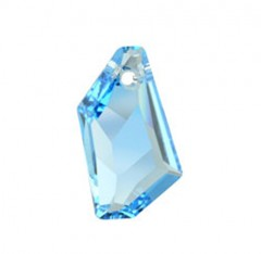 Swarovski Elements 6670 Aquamarine Blue 24mm