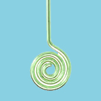 Cum se face un ac cu spirala infasurata?
