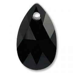 Swarovski Elements 6106 Jet Black 22mm